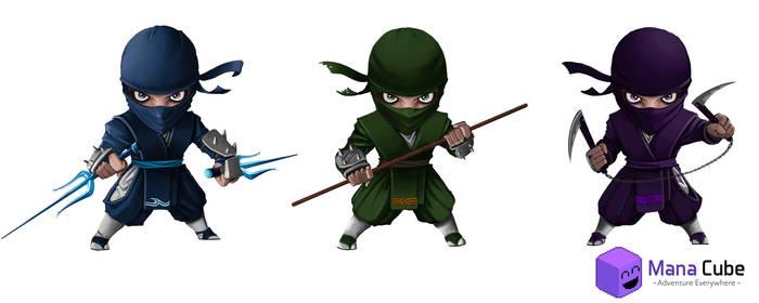 Ninja lvl 2 by Prohibe