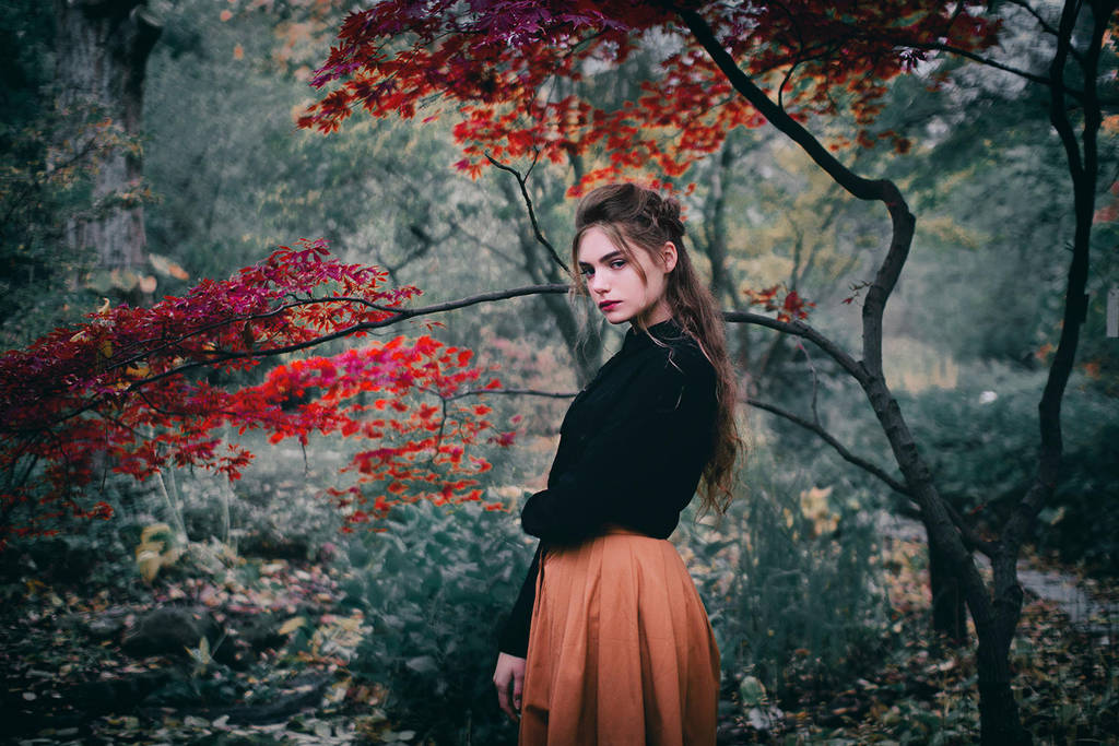 The Strange Garden by Econita