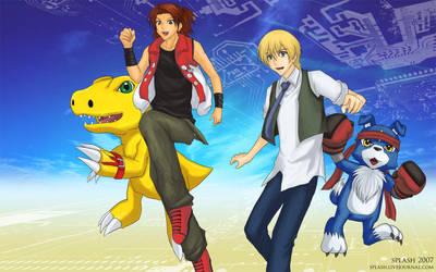 Digimon Savers - Digital Leap by splashgottaito