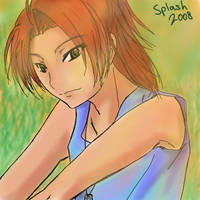Digimon Savers - Masaru oekaki by splashgottaito