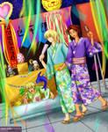 Digimon Matsuri by splashgottaito