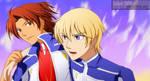 Digimon Savers - ToMaTo Team by splashgottaito