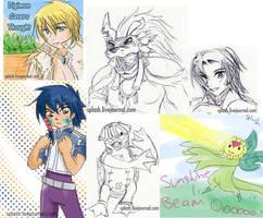 Digimon Savers Thought 18 by splashgottaito