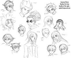 I11 - Firsts Doodles by splashgottaito