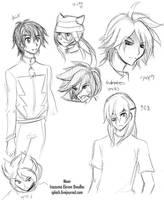 I11 - Firsts Doodles2 by splashgottaito