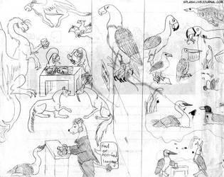 Animal Foul Language by splashgottaito