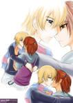 Digimon Savers - AoCIII - Kiss by splashgottaito