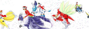 Xmas 2009 - Digimon Wonderland by splashgottaito
