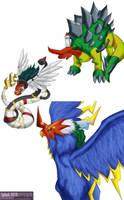 Digimon Savers - BioHybrids by splashgottaito