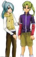 I11 - Kazemaru and Midorikawa by splashgottaito