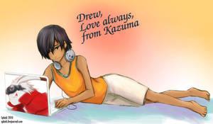 Summer Wars - Kazuma by splashgottaito