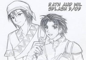 FE 7 - Rath and Wil by splashgottaito