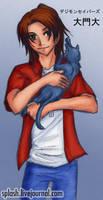 Savers - Masaru with neko by splashgottaito