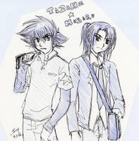 Digimon - Taichi and Masaru by splashgottaito