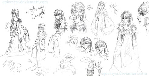 Light Lady by EpicMyst