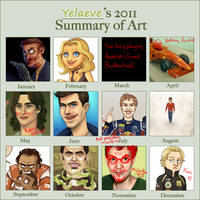 2011 Art Summary by xelanelho
