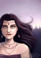 Girl in Purple by xelanelho