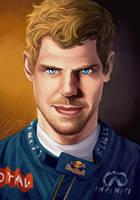 Sebastian Vettel by xelanelho