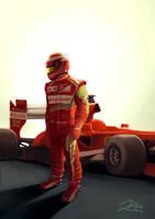 Last Race In Red by xelanelho