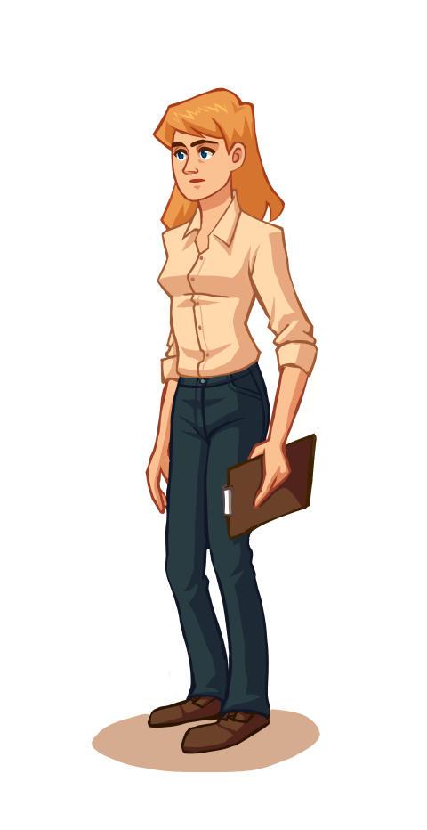 Character Sketch 01 by xelanelho