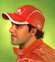 Felipe Massa by xelanelho
