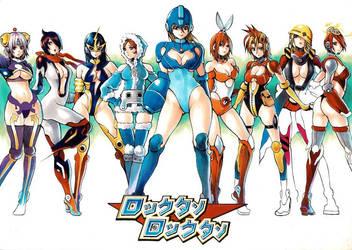 Megagirl NUEVA GENERACION by RequiemSquall
