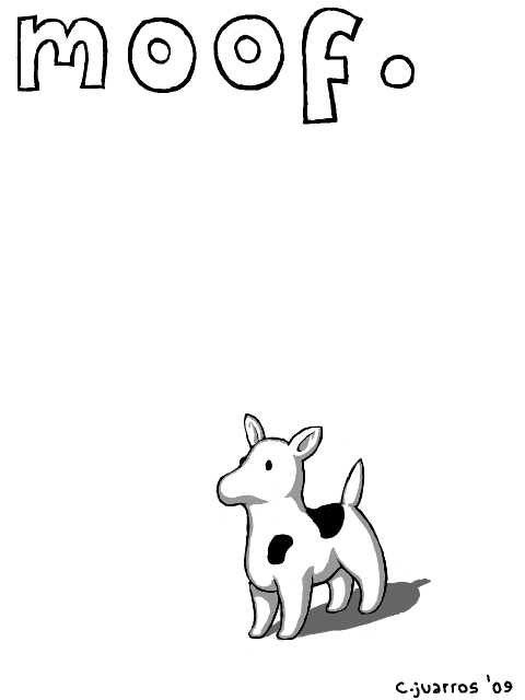 clarus the dogcow by TheLaaarch