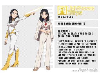 Ikuda Tsuo: Omni-White by NexusYuber