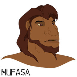 Mufasa - Human by TLK4EVR