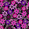 purple flowers 1 by princesspoopiedoo