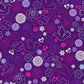 purple flowers 2 by princesspoopiedoo