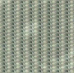 money abstract by princesspoopiedoo
