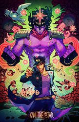 Star Platinum - The Star by vapidity