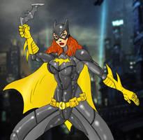 Batgirl by Mawnbak
