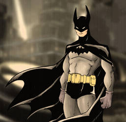 30s Batman by Mawnbak