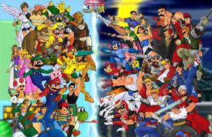 Nintendo versus Capcom by Mawnbak