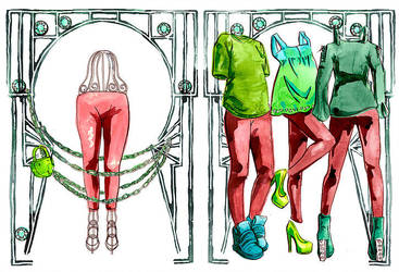 The Legging by CEOillustrated