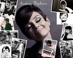 Wallpaper Audrey Hepburn by justatime
