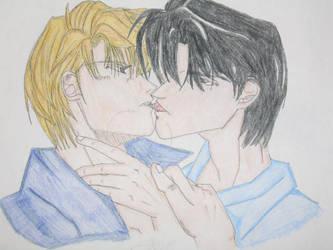 'Fake' Kiss by Chibi-Master