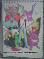 Adote um Zubat Fan Art by Icantdrawhands