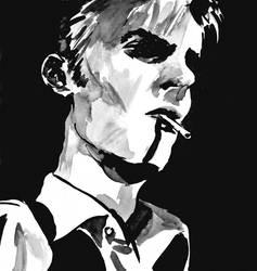Bowie smoking by prolactine