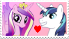 Cadence x Shining Armor Stamp by Achuni