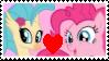 Pinkie x Skystar Stamp by Achuni