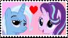 Starlight x Trixie Stamp by Achuni