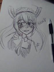 Tohru sketch by PepperScratch