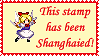 Touhou-Shanghai Stamp by GattaForte
