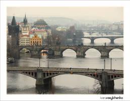 Praha Bridges by Unavi