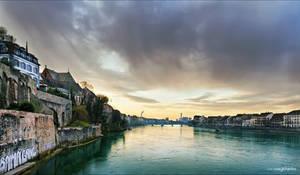 Basel's Rhine by Unavi