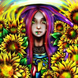 Sunflowers by LoLaQ2014