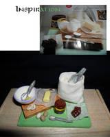 Preparation Tray by kayanah